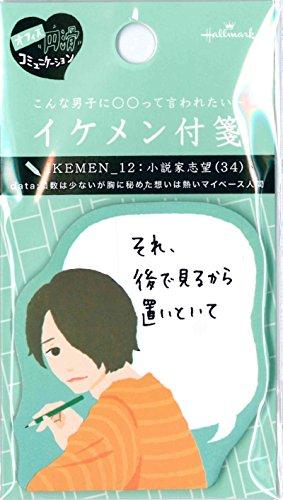 イケメン付箋 IKEMEN_12 小説家志望 EFM-708-689 30枚入り ホールマーク