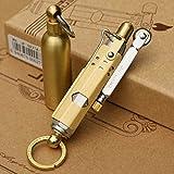アンティーク 真鍮 1920年IMCO レプリカ JIFENG トレンチ オイル ライター WW1軍用ヴィンテージ