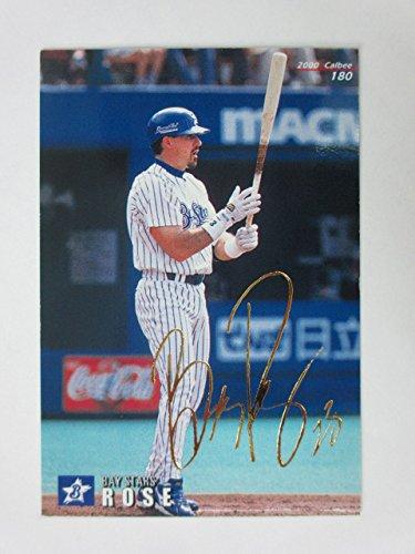 2000カルビープロ野球カード【ゴールドサインパラレル】180ローズ/横浜