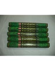裾ユーカリ100 Incense Sticks (5 x 20スティックパック)