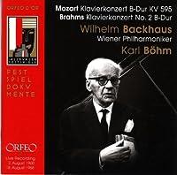 Klavierkonzert No. 27; Klavier by MOZART / BRAHMS