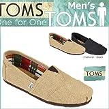 (トムズ シューズ)TOMS SHOES スリッポン BURLAP MEN'S CLASSICS バーラップ クラシック 001004A [並行輸入品]