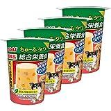 いなばペットフード 犬用おやつ ちゅ~る タワー 総合栄養食 ビーフ&ささみ・野菜 80g×4個 (まとめ買い)