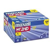 """消費者電子製品Maxell 3.5インチフロッピーディスク"""" 1.44MB ( 100–パック)供給ストア"""