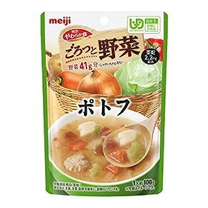 明治やわらか食 ごろっと野菜 【区分1】ポトフ 100g×12袋