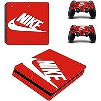 PS4 slim スリム  専用スキンシールΓスポーツ ナイキ Nike 」 本体用 + コントローラー用 × 2枚 ノーブランド 0101 [並行輸入品]