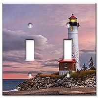 アートプレートブランドスイッチ/壁プレート–灯台のMi マルチカラー 8615-D