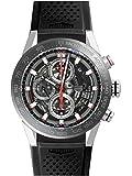 [タグ・ホイヤー] TAG HEUER 腕時計 CAR201V.FT6046 カレラ キャリバーホイヤー01 クロノグラフ 43ミリ 新品 [並行輸入品]