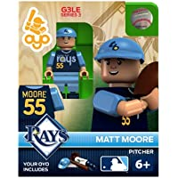 MLB Tampa Bay Rays Matt Moore generation 3 Toy Figure