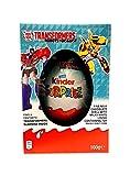 キンダーサプライズ トランスフォーマー ジャイアントエッグ 100g リミテッドエディション Kinder Surprise Giant Egg 100g Limited Edition Transformers Robots in Disguise
