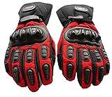 ナイキ 通販 nico+(ニコプラス )グローブ バイクグローブ ロードバイク 自転車グローブ 手袋耐衝撃 プロテクター 防水防寒 レッドLサイズ