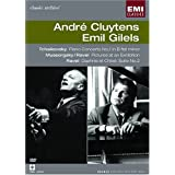 Andre Cluytens/Emil Gilels :Tchaikovsky Piano Concerto, Mussorgsky Pictures at an Exhibition, Ravel Daphnis et Chloe suite no. 2 (EMI Classic Archive) [DVD] [Import]
