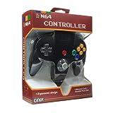 (N64)N64 CONTROLLER(BLACK)(Cirka製)(任天堂64互換コントローラ)(北米版) third-party M05786-BK