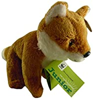 WWF Junior Forest Collection 6'' Fox Soft Toy [並行輸入品]