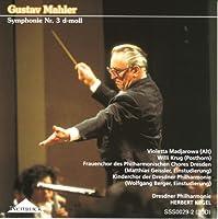 Mahler Symphony No.3. (Violetta Madjarowa Alto. Choruses & Dresden Philharmonic/ Kegel. Rec. 3/