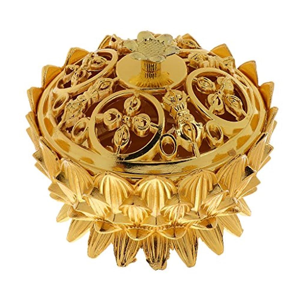 私の頼るカカドゥ仏教 チベット 蓮 香りバーナー 香炉 金属 工芸品 家 装飾 全3選択 - #3