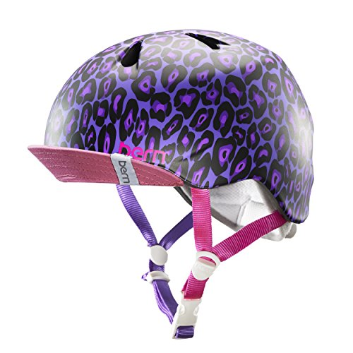 bern(バーン) NINA BE-VJGPLV-12 Satin Purple Leopard S/M