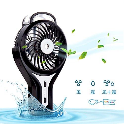 扇風機,Sounwill USB扇風機 噴霧冷風機 卓上/手...