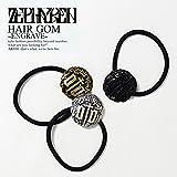 (ゼファレン)ZEPHYREN HAIR GOM -ENGRAVE- BLACK FREE