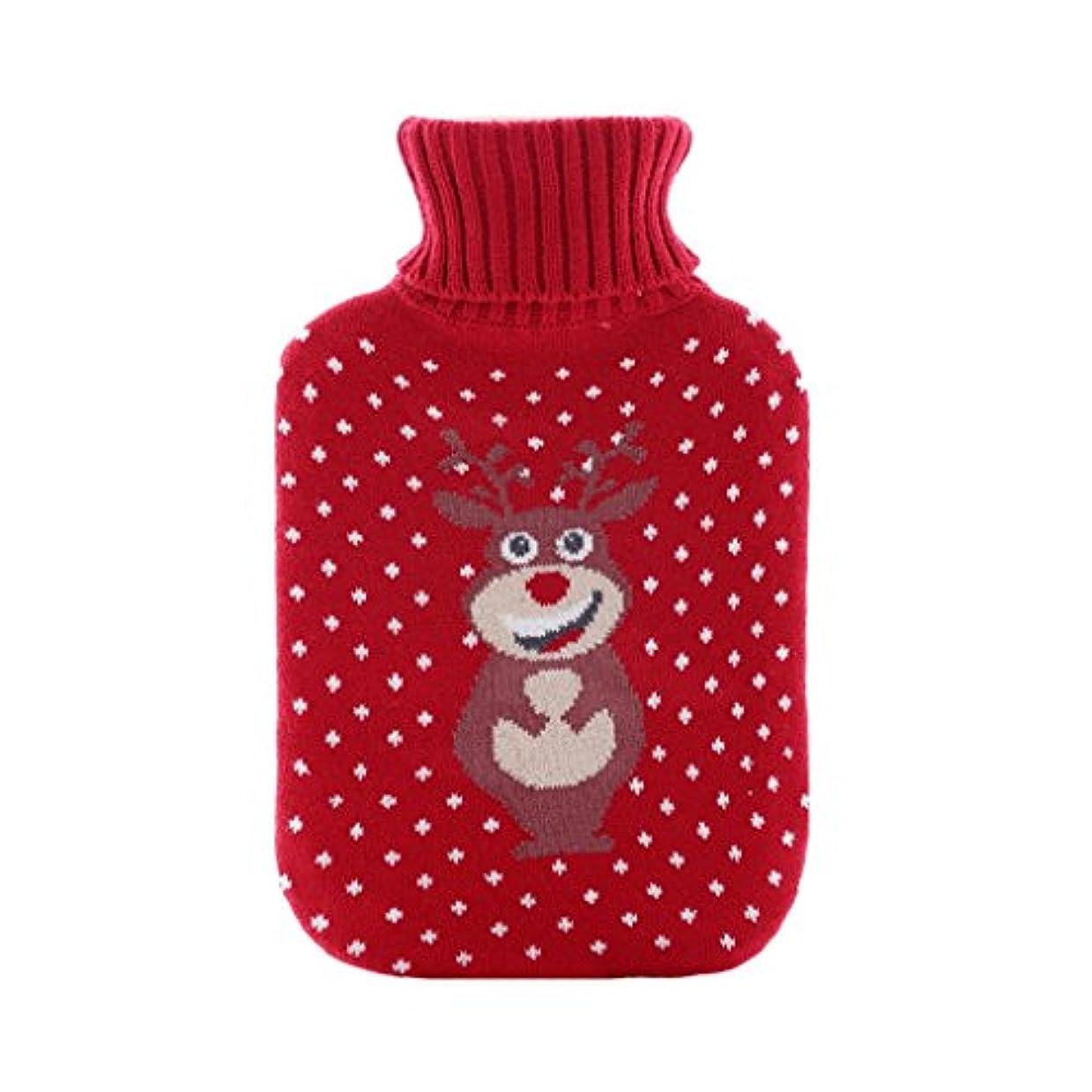 媒染剤優雅な継承温水バッグ、天然ゴム、漫画の柔らかいニットの保護は、暖かく快適に保つために