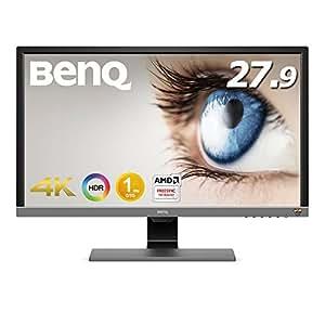 【PS4 Pro対応】BenQ ゲーミングモニター ディスプレイ EL2870U 27.9インチ/4K/HDR/TN/1ms/FreeSync対応/HDMI×2/DP1.4/スピーカー/アイケア機能B.I.+