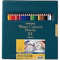 サクラクレパス 水彩色鉛筆 24色 EPY24