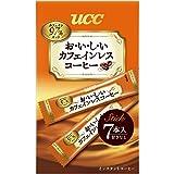 UCC おいしいカフェインレス スティックコーヒー 7P 14g×6袋