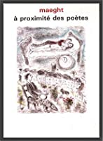 ポスター マルク シャガール A Proximite Des Poetes 1986 額装品 ウッドベーシックフレーム(ブラック)