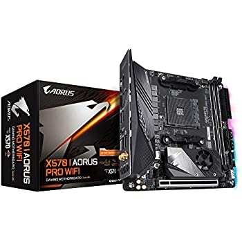 GIGABYTE ギガバイト X570 I AORUS PRO WIFI Mini-ITX マザーボード [AMD X570チップセット搭載] MB4790