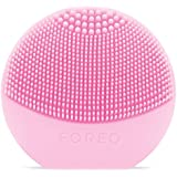 FOREO Luna play Facial Cleanser Brush, Ultra-Portable and Fully Waterproof Sonic Cleansing Device, Pearl pink, 58g