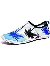 MEIDUO ウォーターシューズ 夏の水泳の靴水の靴屋外のメッシュ通気性の滑り止めの速い乾燥軽量の大規模なビーチの靴の恋人 ビーチスイムヨガのための