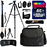 Xtech NIKON COOLPIX Accessories KIT for Nikon Coolpix P900, P610, P600, P530, P520, P340, P310, P510, P4, P3, S9900, S7000, S6..