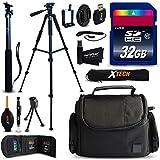 Xtech NIKON COOLPIX Accessories KIT for Nikon Coolpix P900, P610, P600, P530, P520, P340, P310, P510, P4, P3, S9900, S7000, S6..