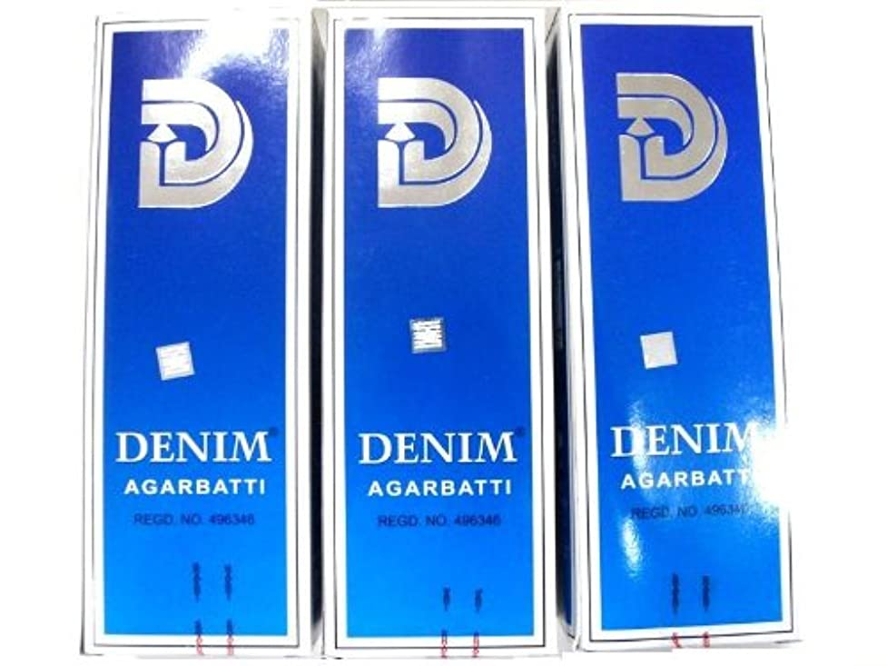 件名準備する下線SHASHI スティックお香/六角香/ヘキサパック(18箱)3ケースセット(デニム)