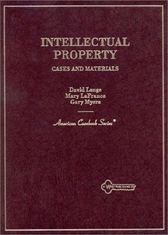 Download Intellectual Property: Cases and Materials (American Casebook Series) 0314211306