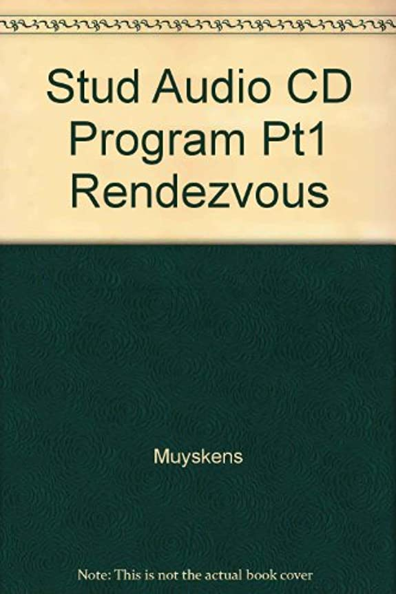 恐怖症教師の日レキシコンStudent Audio CD Program Part 1 (Package) to accompany Rendez-vous: An Invitation to French