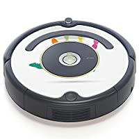iRobot ルンバ Roomba 専用スキンシール ステッカー 527 530 537 560 577 620 621 622 630 650 対応 クール 手形 カラフル シンプル 003630