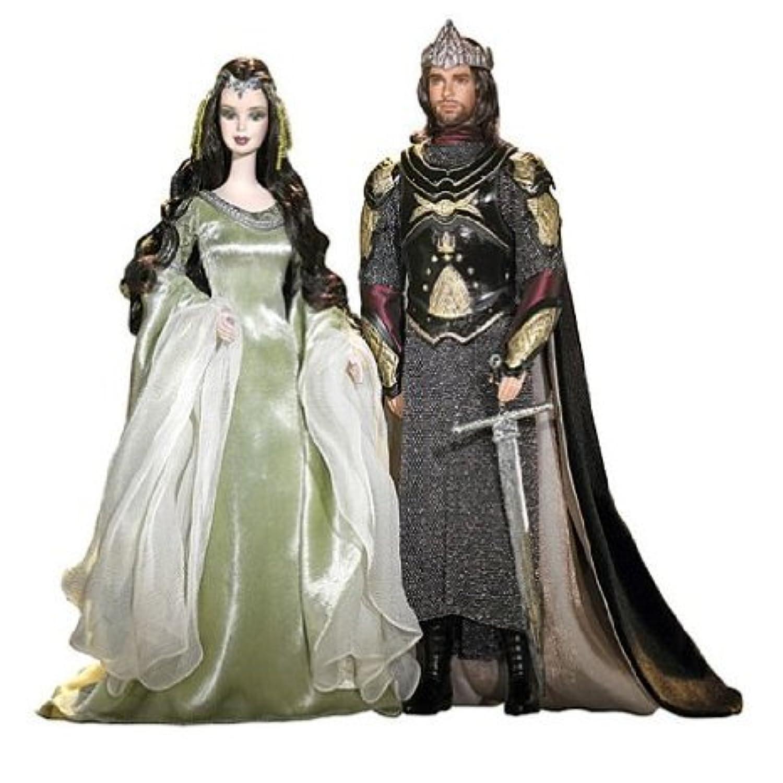 Lord of the Rings (ロードオブザリング) Barbie(バービー) and Ken as Arwen and Aragorn ドール 人形 フィギュア(並行輸入)
