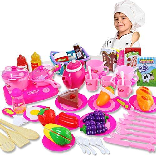 キッチンプレイセット HAOUN キッチン用品 料理玩具 お...