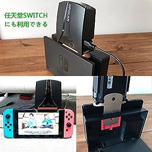 Opolar LC06吸引式ノートPC冷却ファン 任天堂 Nintendo Switch冷却ノートクーラー pcクーラーファン コンパクト 静音 温度が表示され ファンスピード調整ができ ノートPCの冷却台 PS4 ニンテンドースイッチの冷却