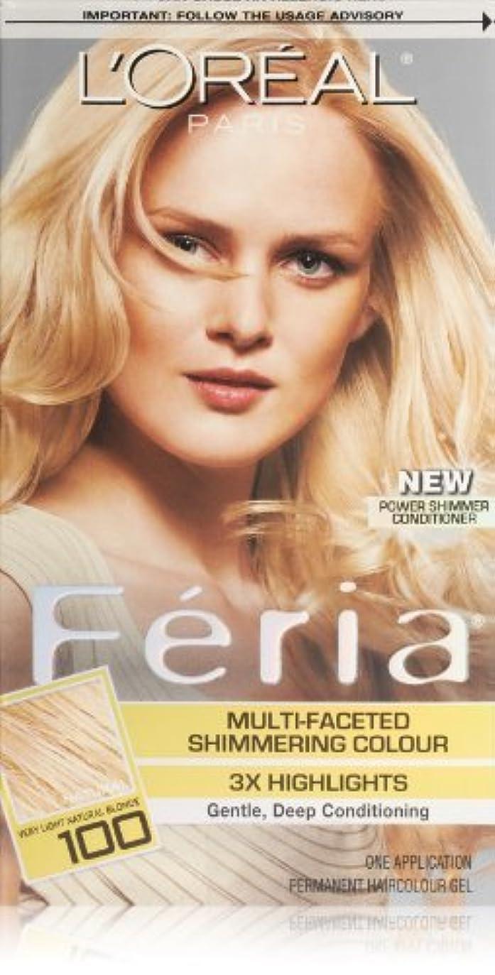 南アメリカ最も遠い才能のあるFeria Pure Diamond by L'Oreal Paris Hair Color [並行輸入品]