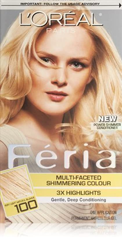 一般的なサイレントアカデミーFeria Pure Diamond by L'Oreal Paris Hair Color [並行輸入品]