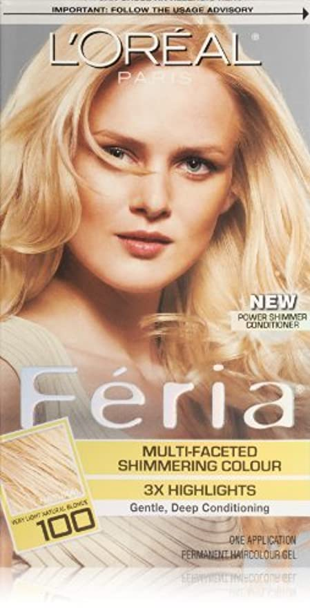 銃訪問服Feria Pure Diamond by L'Oreal Paris Hair Color [並行輸入品]
