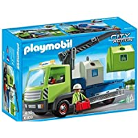 Playmobil 6109 City Action City Cleaning Glass Sorting Truck [並行輸入品]