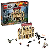 LEGO Jurassic World Indoraptor Rampage at Lockwood Estate 75930 Building Kit 1019 pieces