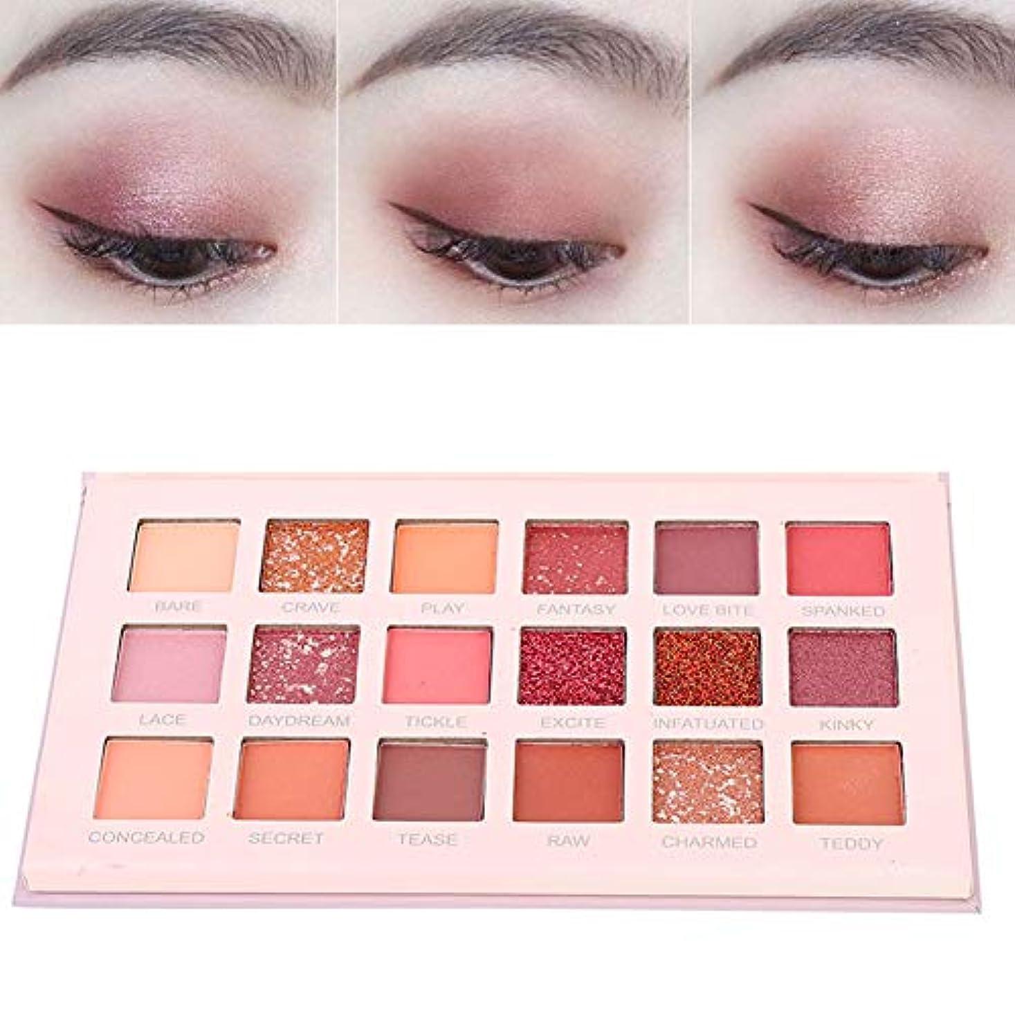 その他器用顕微鏡18 Colors Matte Eyeshadow女性用アイシャドウ