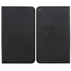 【KuGi】 Huawei MediaPad T1 7.0 ケース 超薄型 超軽量 内蔵マグネット開閉式 高級PU レザー Huawei MediaPad T1 7.0 カバー (Huawei MediaPad T1 7.0, ブラック)