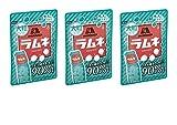 【まとめ買い】森永製菓 大粒ラムネ 41g × 3袋 (1.5倍の大きさ)