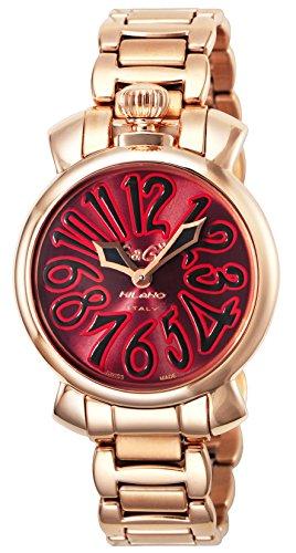 [ガガミラノ]GaGa MILANO 腕時計 MANUALE35mm レッド文字盤 ・・・