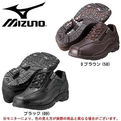 MIZUNO(ミズノ) LD40II 5KF050 レディースウォーキングシューズ (メタリックパープル(67), 22.5cm)